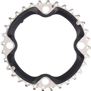 Shimano SLX FCM670 10 Speed Triple Chainrings Black