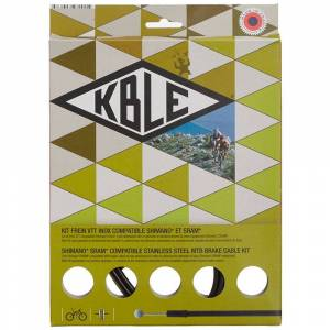 Transfil Shimano K.ble Brake Cable Set  - Gender: Unisex - Color: Black