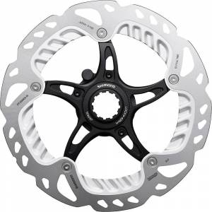 Shimano RT-EM900 Steps rotor with lockring Black/Silver