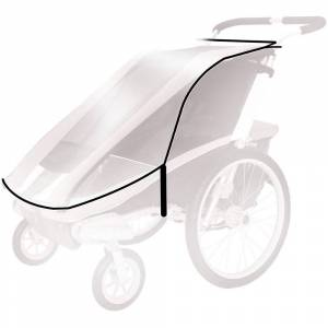 Thule Chariot Weather Cover  - Gender: Unisex - Color: Clear
