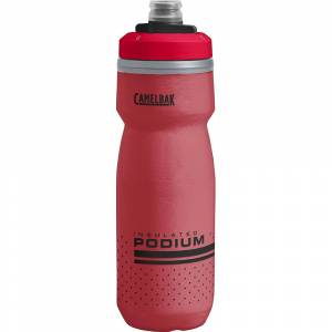 Camelbak Podium Chill 620ml Water Bottle SS19  - Size: 620ml - Gender: Unisex - Color: Fiery Red
