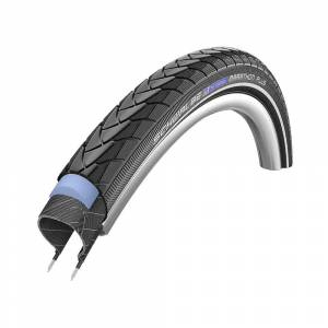 Schwalbe Marathon Plus Road Tyre - Smart Guard Black