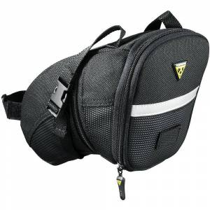 Topeak Aero Wedge Strap On Saddle Bag Black