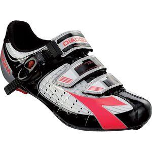 Diadora Trivex Plus Womens SPD-SL Shoes  - Size: EU 39 - Gender: Male - Color: White/Black/Red Fuchsia