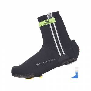 SealSkinz Halo Overshoes AW15 Black/Red