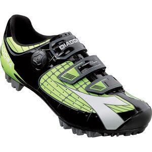 Diadora X Vortex Comp MTB SPD Shoes Green/Black