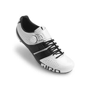Giro Factor Techlace SPD-SL Road Shoes  - Size: EU 46 - Gender: Unisex - Color: White/Black 19