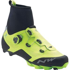 Northwave Raptor Arctic GTX Winter Shoes AW18 Yellow Fluo/Black