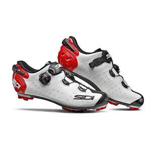 Sidi Drako 2 SRS MTB Shoes 2019 White/Black/Red
