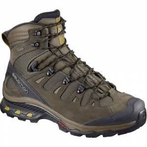 Salomon Quest 4d 3 Gtx® Boots SS18  - Size: UK 9.5 - Gender: Unisex - Color: Wren/Bungee Cord/Green Sulphur