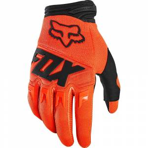 Fox Racing Youth Dirtpaw Race Gloves AW19 Fluo Orange