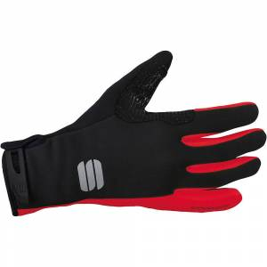 Sportful Essential 2 Windstopper Gloves AW18 Red/Black