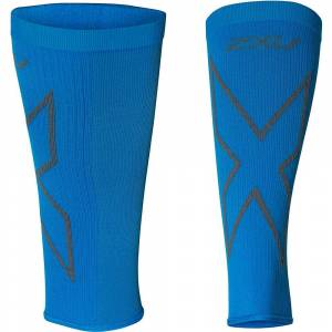 2XU X Compression Calf Sleeves SS19  - Size: XL - Gender: Unisex - Color: Vibrant Blue/Grey