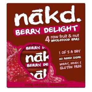 nakd. Bar 4 x 35g Multi-Pack  - Size: 4 Pack - Gender: Unisex