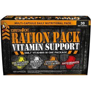 Grenade Ration Pack Vitamins (120 capsules) n/a