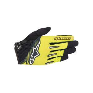 Alpinestars Flow Gloves 2016  - Size: XXXL - Gender: Unisex - Color: Acid Yellow Black