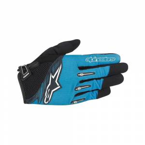 Alpinestars Flow Gloves 2016 Bright Blue Black