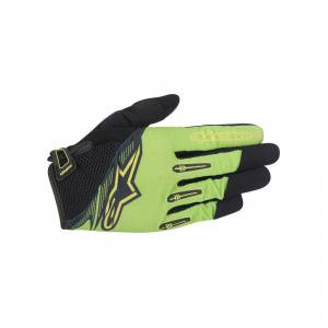 Alpinestars Flow Gloves 2016 Bright Green Black