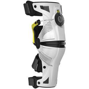 Mobius X8 Knee Braces White/Acid Yellow