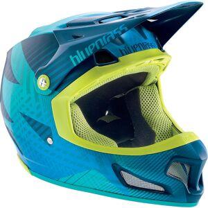 Bluegrass Brave Helmet 2017 Blue/Green