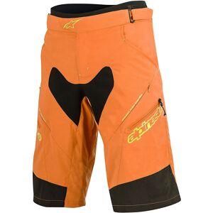 Alpinestars Drop 2 Shorts 2016 Orange/Acid Yellow