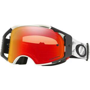 Oakley Airbrake Goggles - Prizm Lens  - Size: OSFA - Gender: Unisex - Color: Matte White/Torch Lens