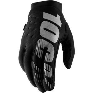 100% Women's Brisker Gloves SS19 Black/Grey
