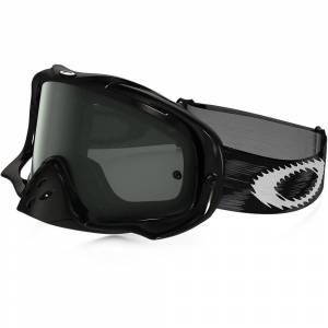 Oakley Crowbar Goggles Jet Black Speed/Dark Grey Lens
