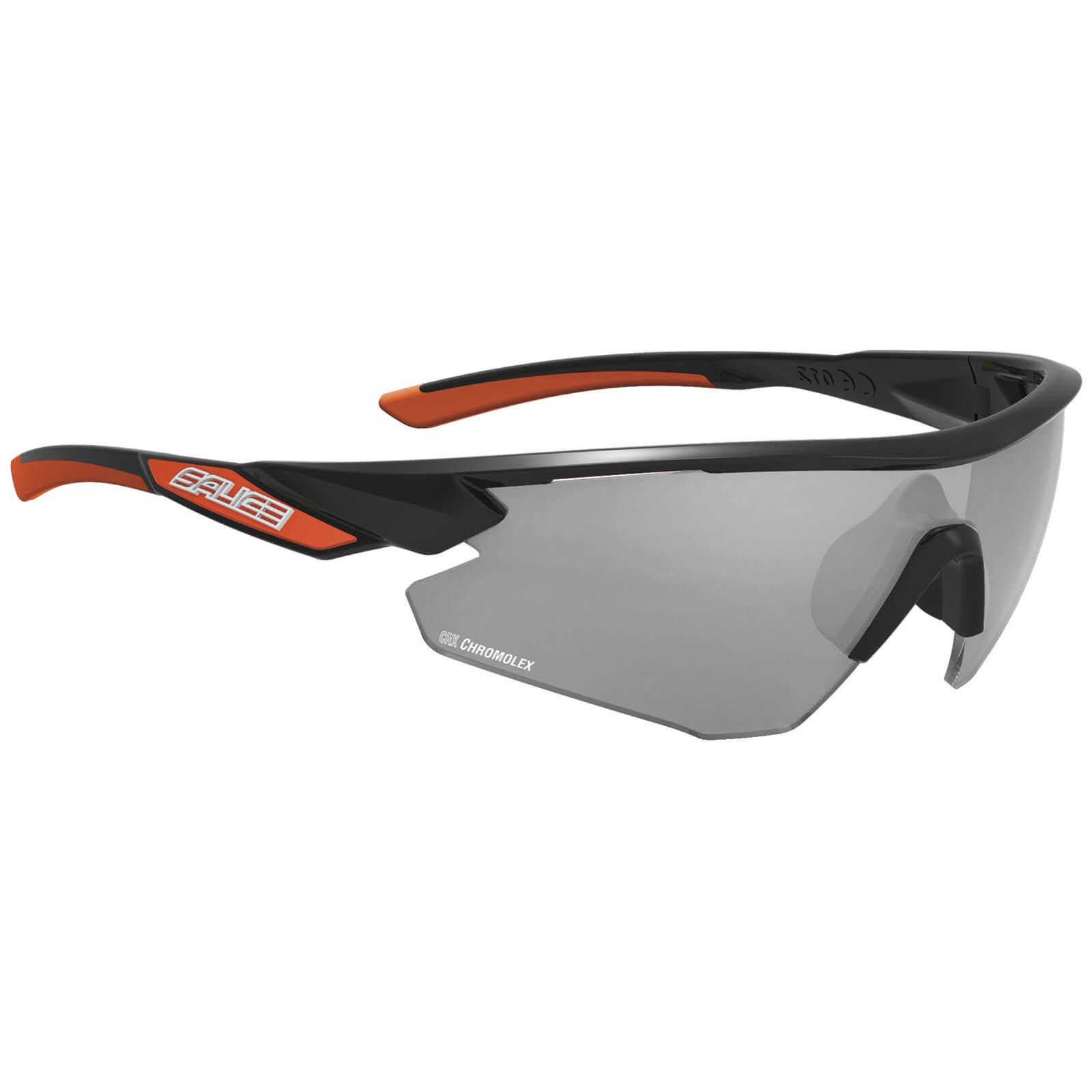 Salice 012 CRX Photochromic Sunglasses - Black/Grey