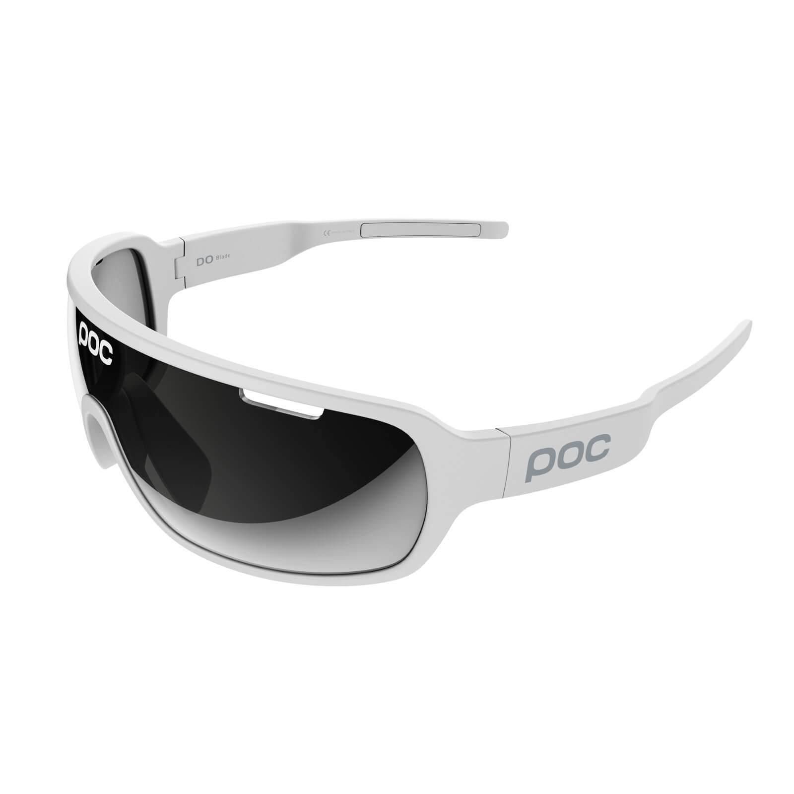 POC DO Blade Clarity Sunglasses - Hydrogen White/Silver Mirror