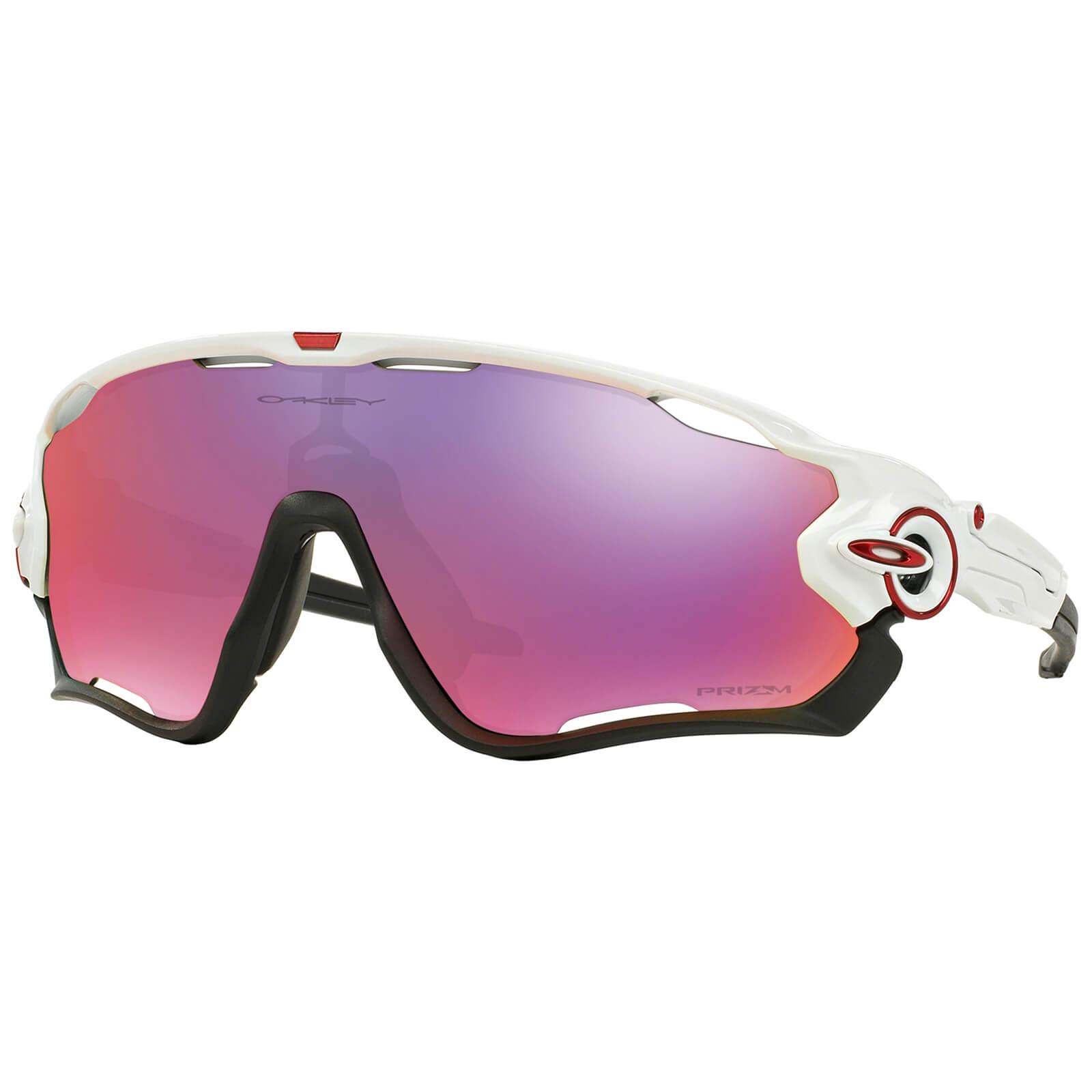 Oakley Jawbreaker Prizm Road Sunglasses - Polished White