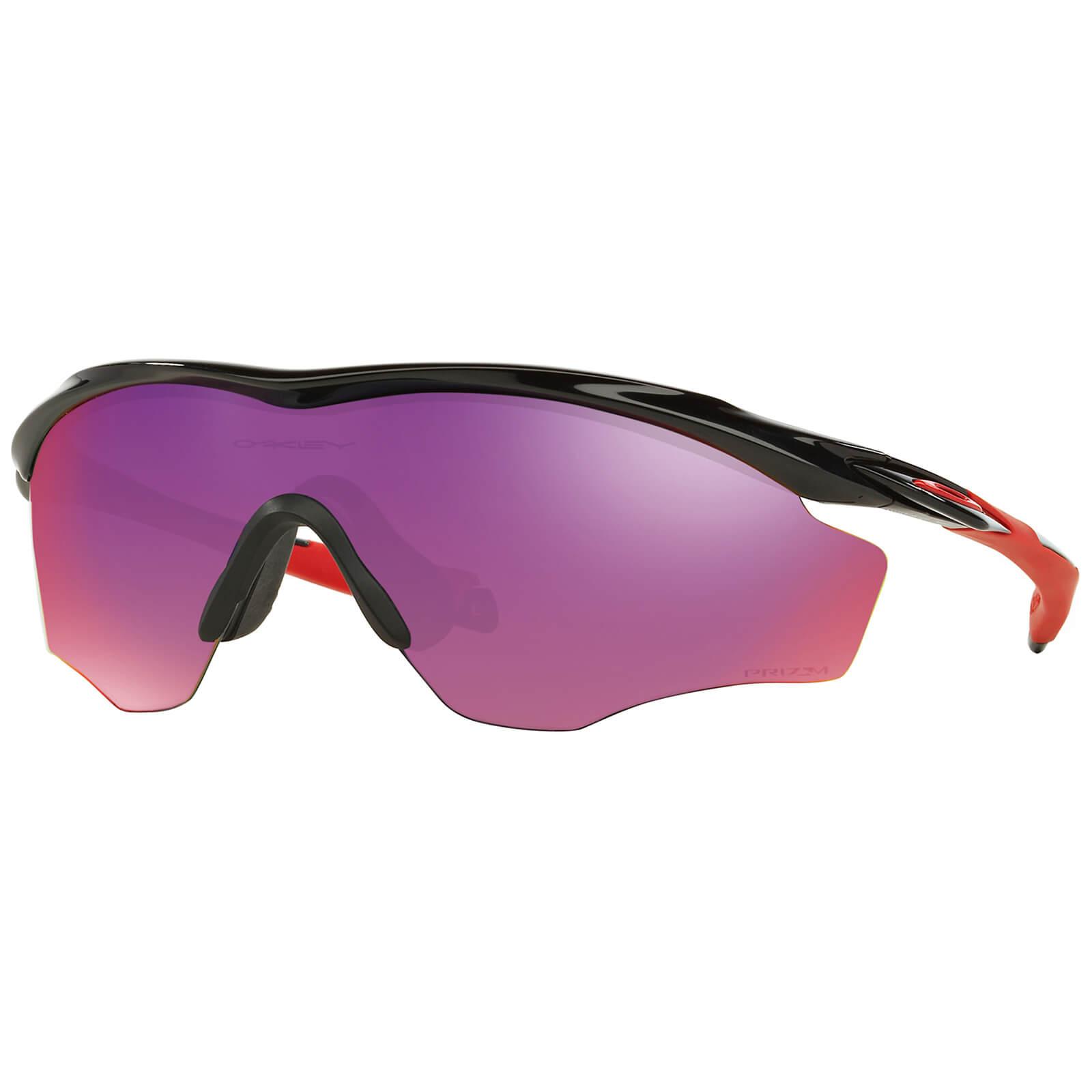 Oakley M2 XL Frame Prizm Road Sunglasses - Polished Black