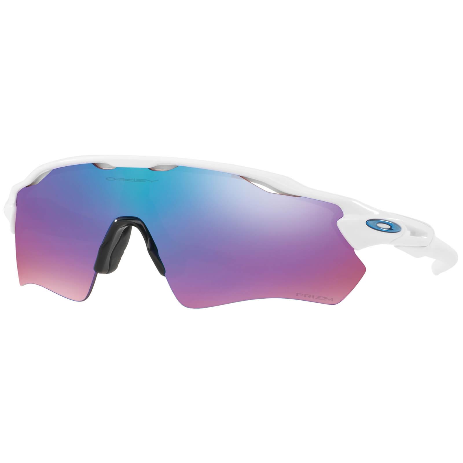 Oakley Radar EV Path Sunglasses - Polished White/Prizm Snow