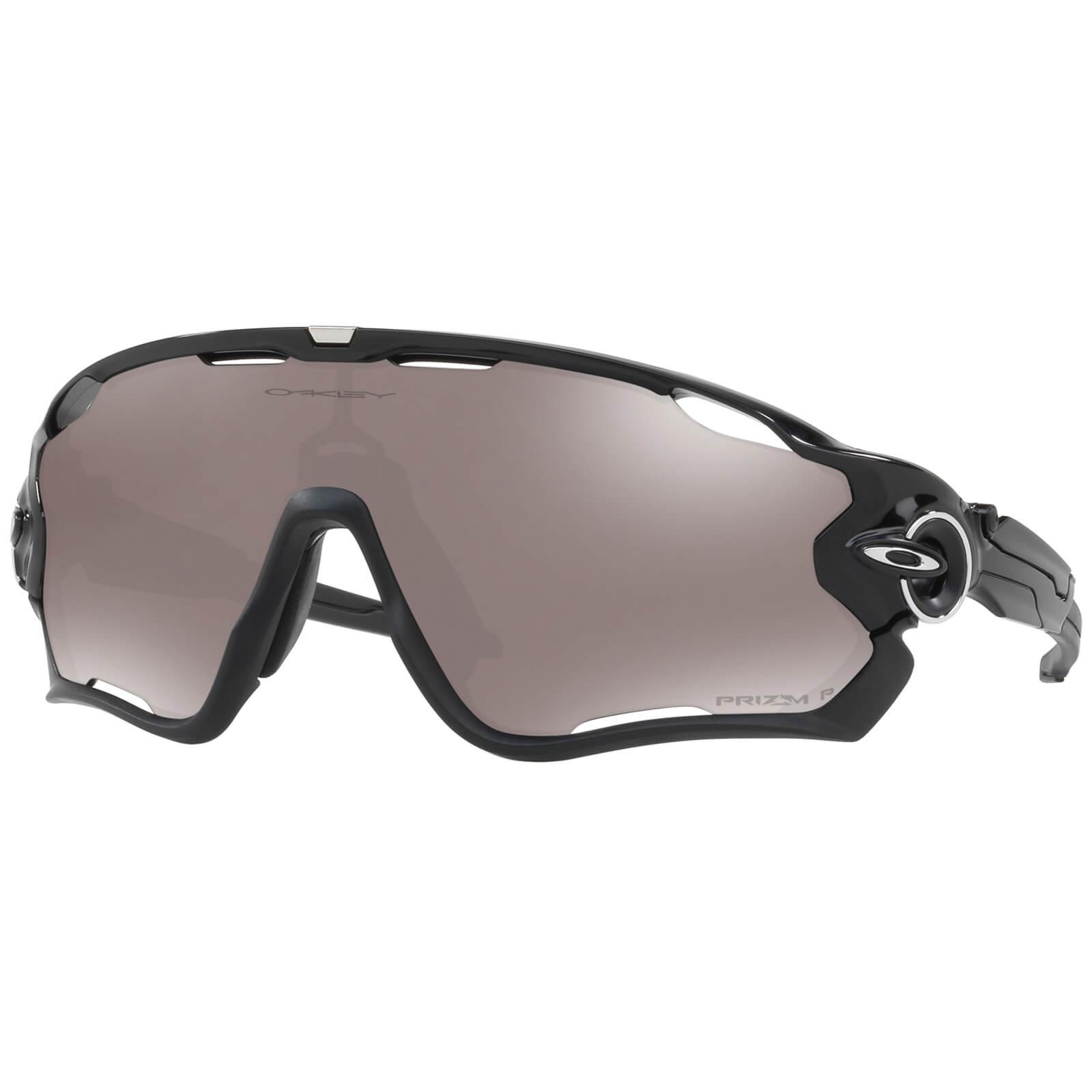 Oakley Jawbreaker Polarised Sunglasses - Polished Black/Prizm Black