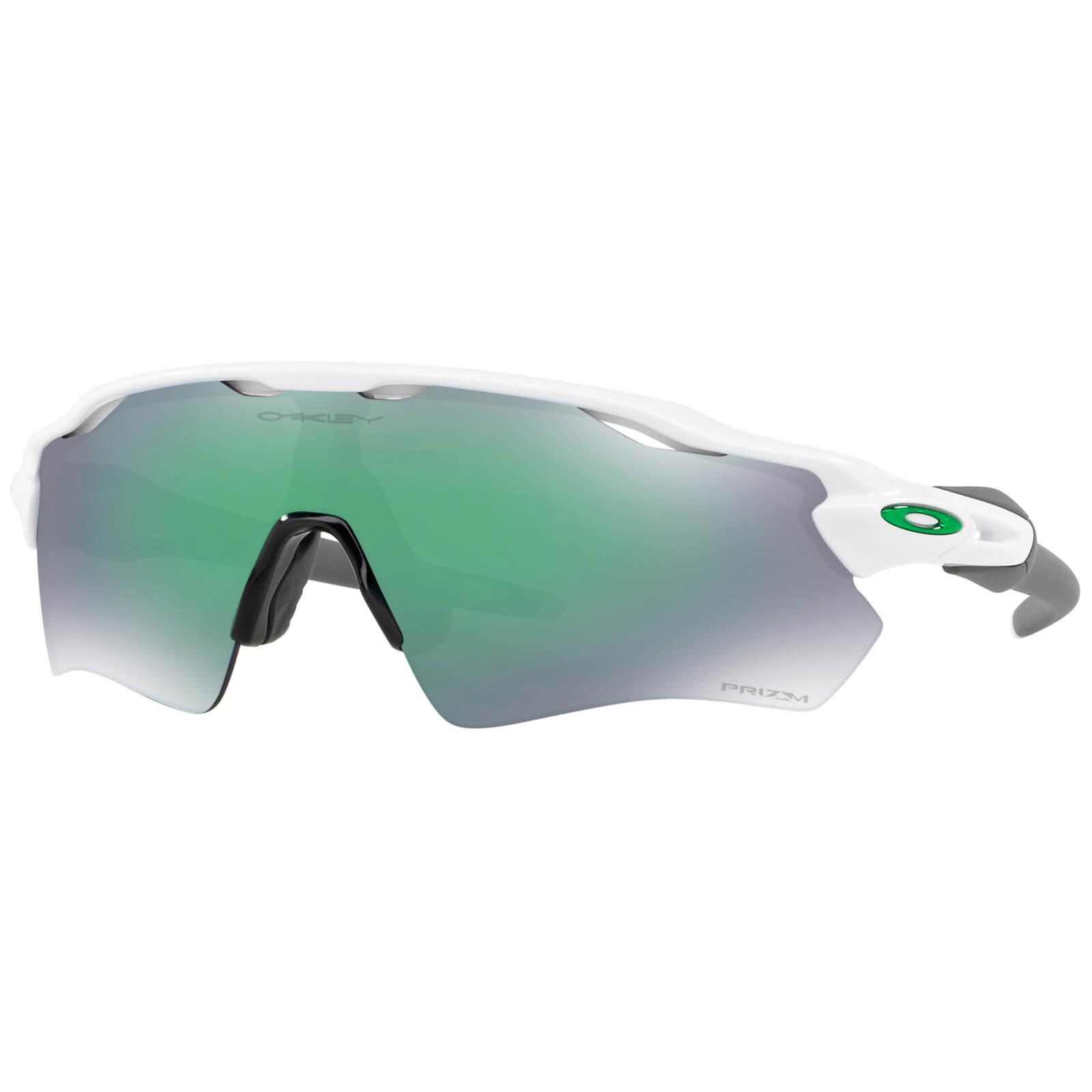 Oakley Radar EV Path Sunglasses - Polished White/Prizm Jade