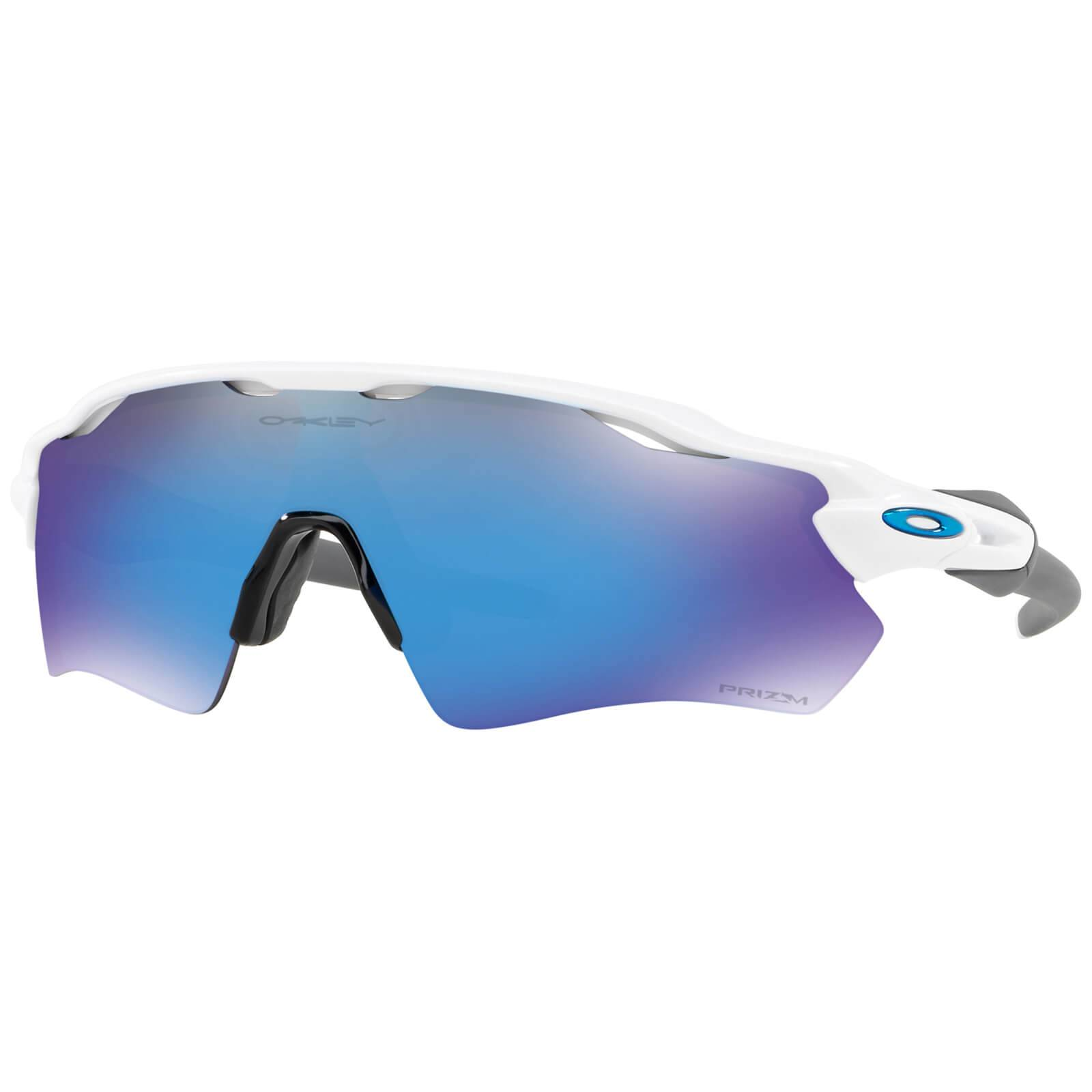 Oakley Radar EV Path Sunglasses - Polished White/Grey/Prizm Sapphire