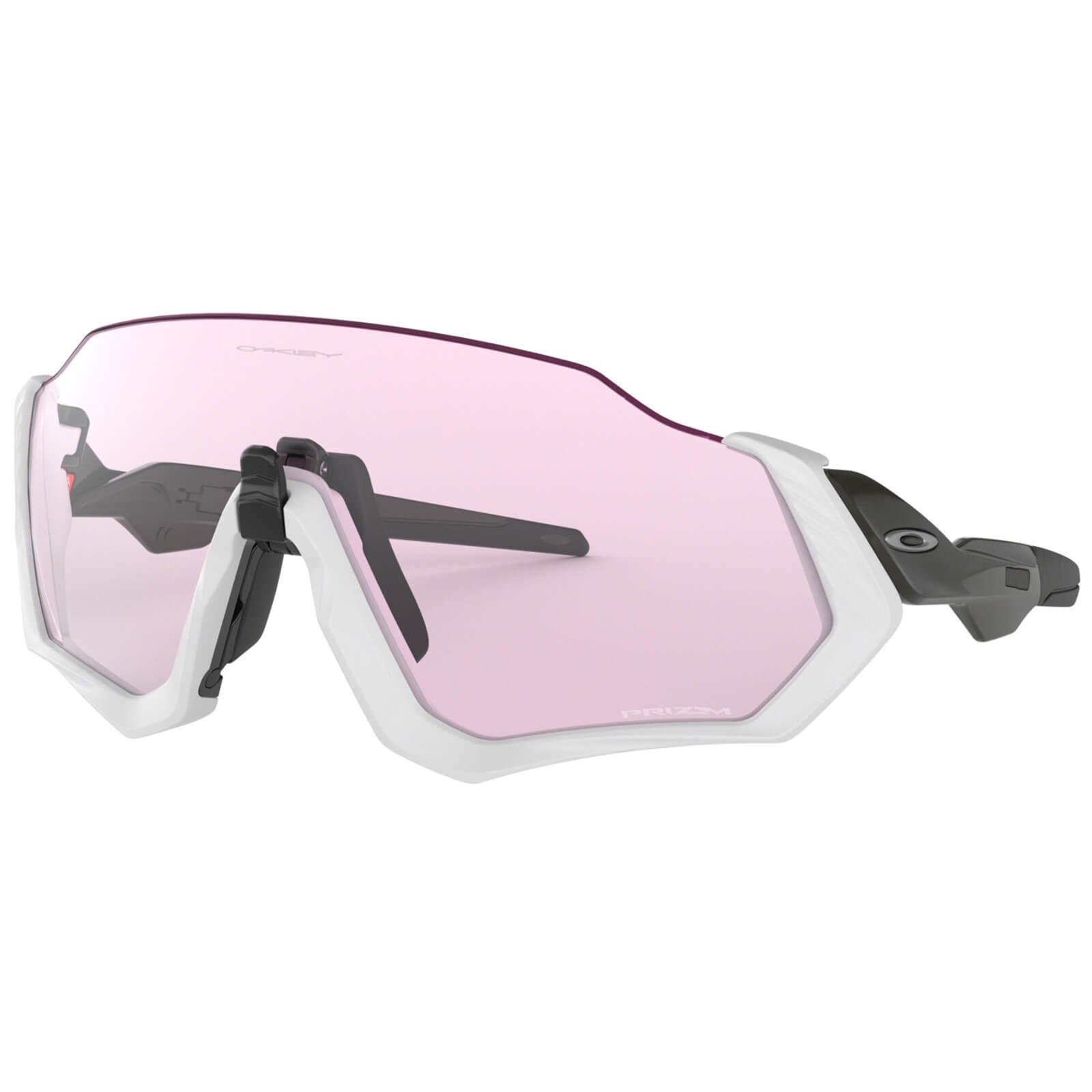 Oakley Flight Jacket Sunglasses - Carbon/Prizm Low Light