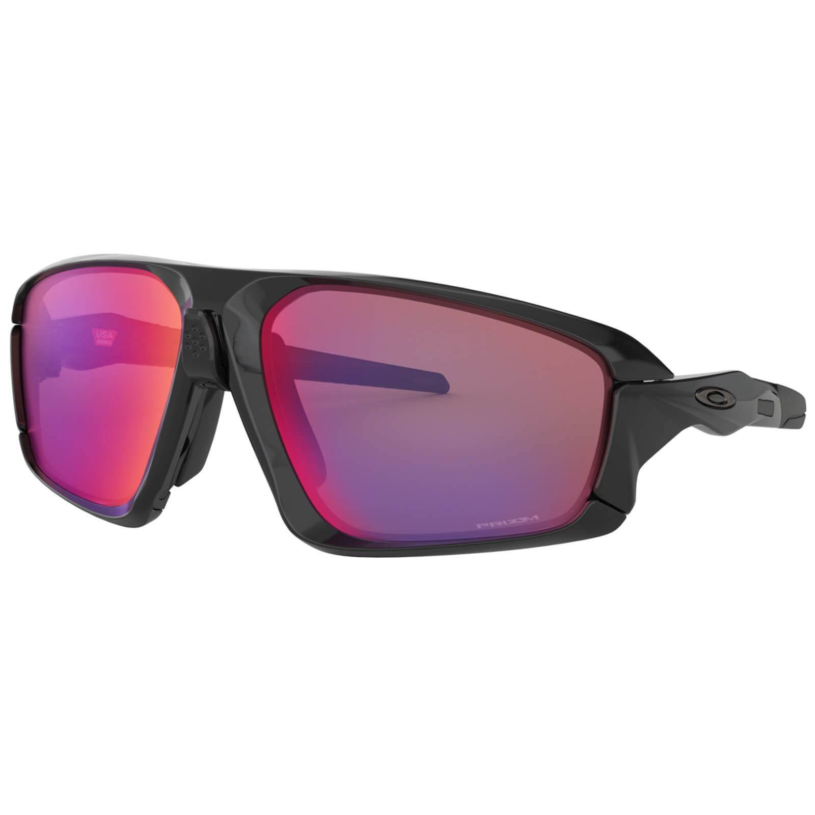 Oakley Field Jacket Sunglasses - Polished Black/Prizm Road