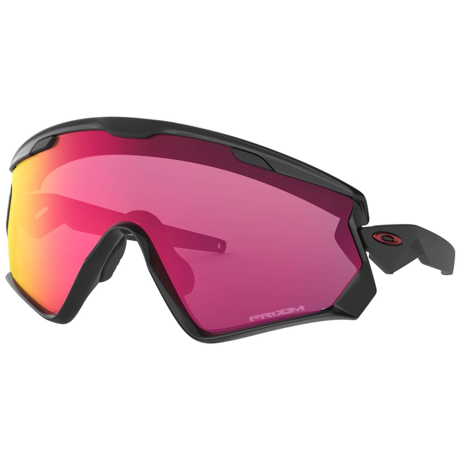 Oakley Wind Jacket 2.0 Sunglasses - Polished Black/Prizm Road