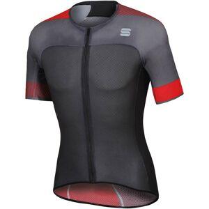 Sportful BodyFit Pro 2.0 Light Jersey - XL - Anthracite/Black/Red