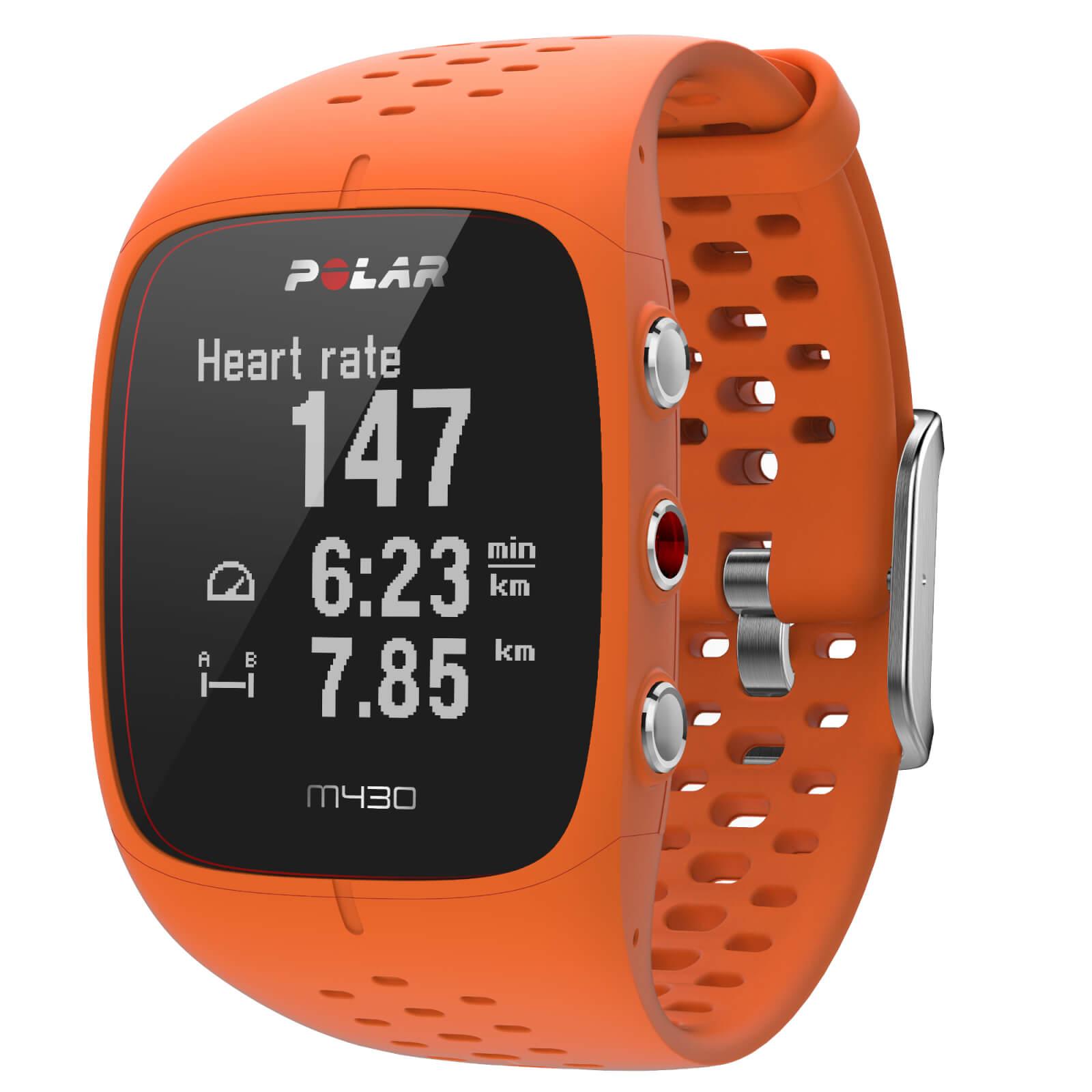 Polar M430 GPS Running Watch - Orange