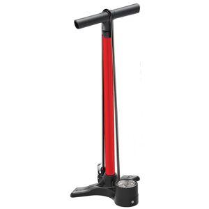 Lezyne Macro Floor ABS Head Drive Pump - Red