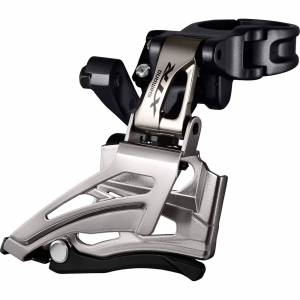 Shimano FD-M9025 XTR Double Front Derailleur - E-Type - Top Swing - Down Pull