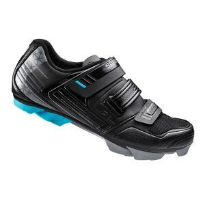 Shimano WM53 SPD Women's Cycling Shoes - Black - EUR 37 - Black