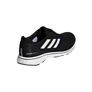 adidas Women's Adizero Adios 4 Running Shoes - Black/White - US 5.5/UK 4 - Black/White