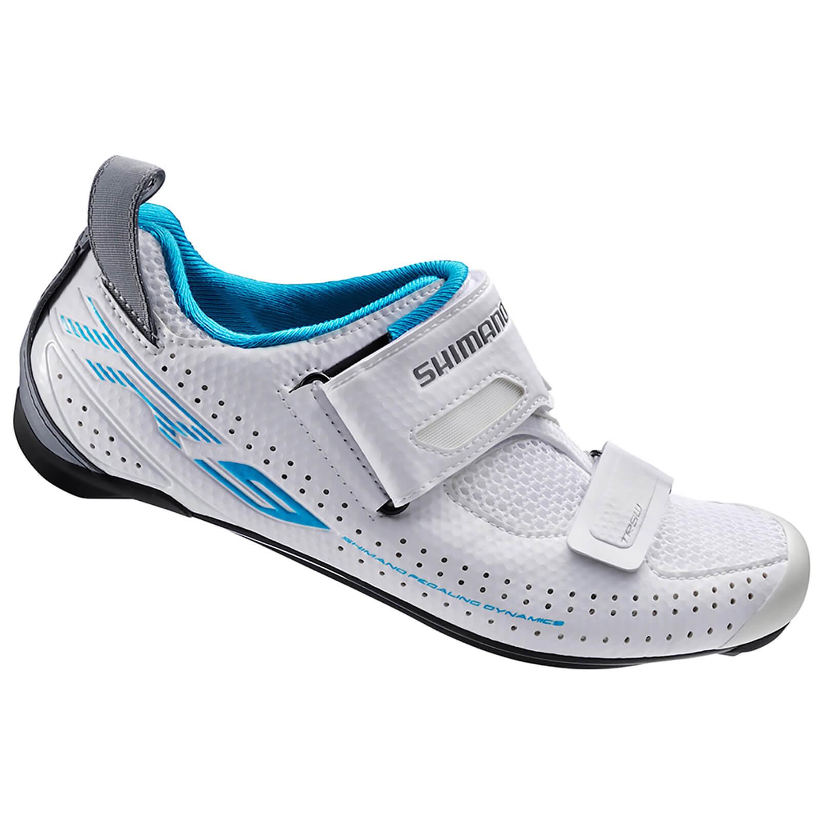 Shimano TR9W SPD-SL Cycling Shoes - White - EUR 36 - White