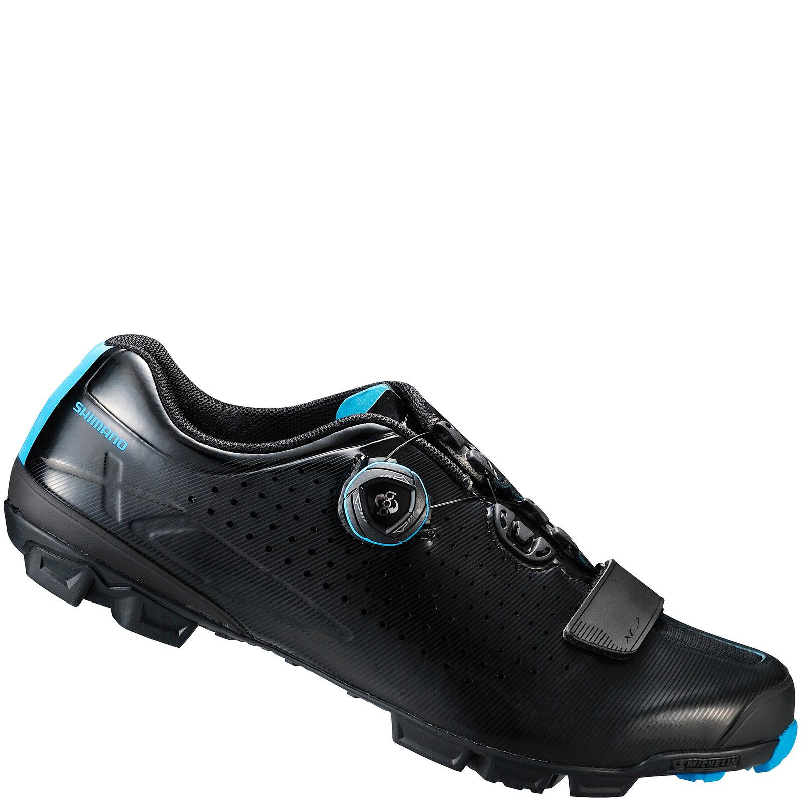 Shimano XC7 SPD MTB Cycling Shoes - Black - EU 41 - Black