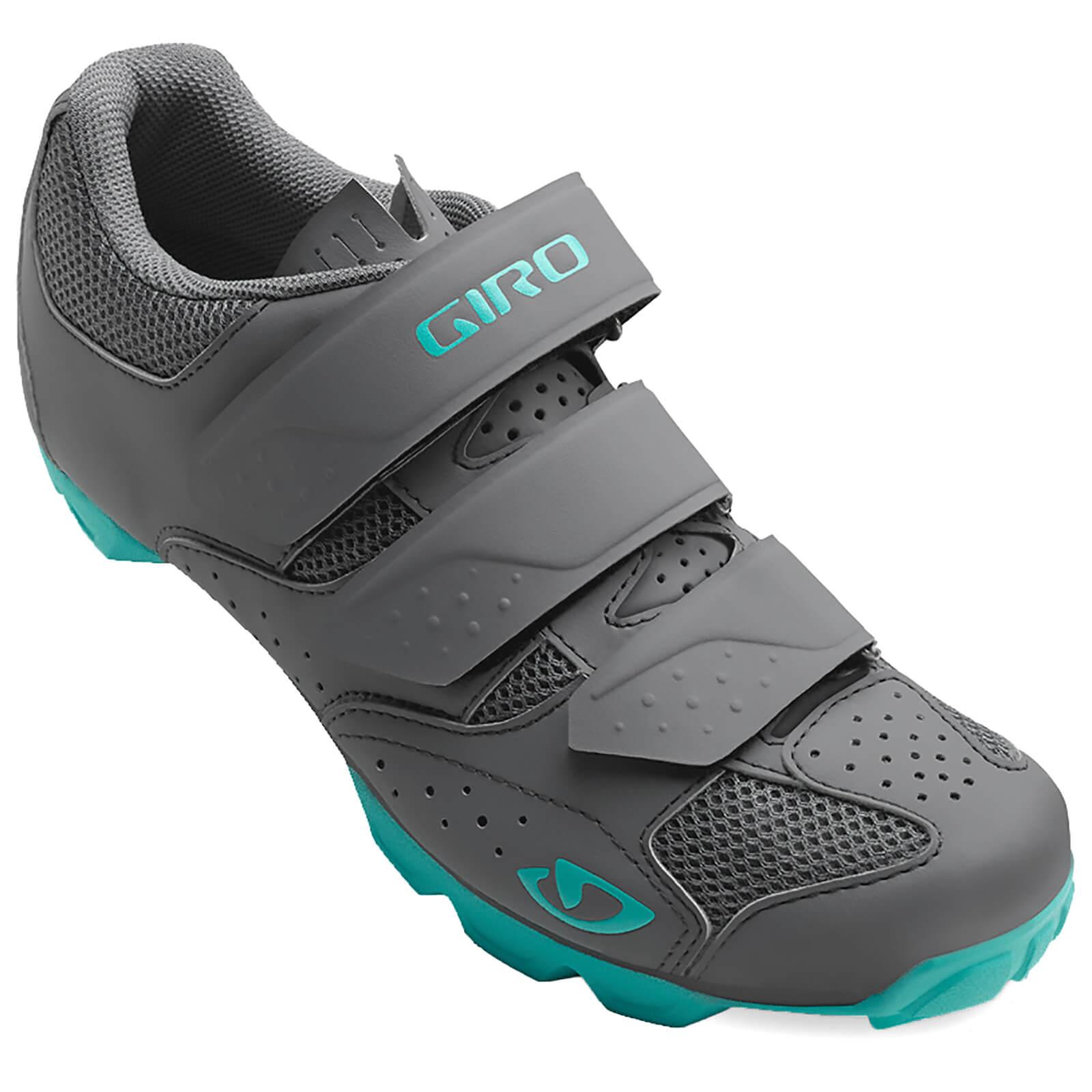 Giro Riela RII Women's MTB Cycling Shoes - Dark Shadow/Glacier - EU 37/UK 4 - Grey