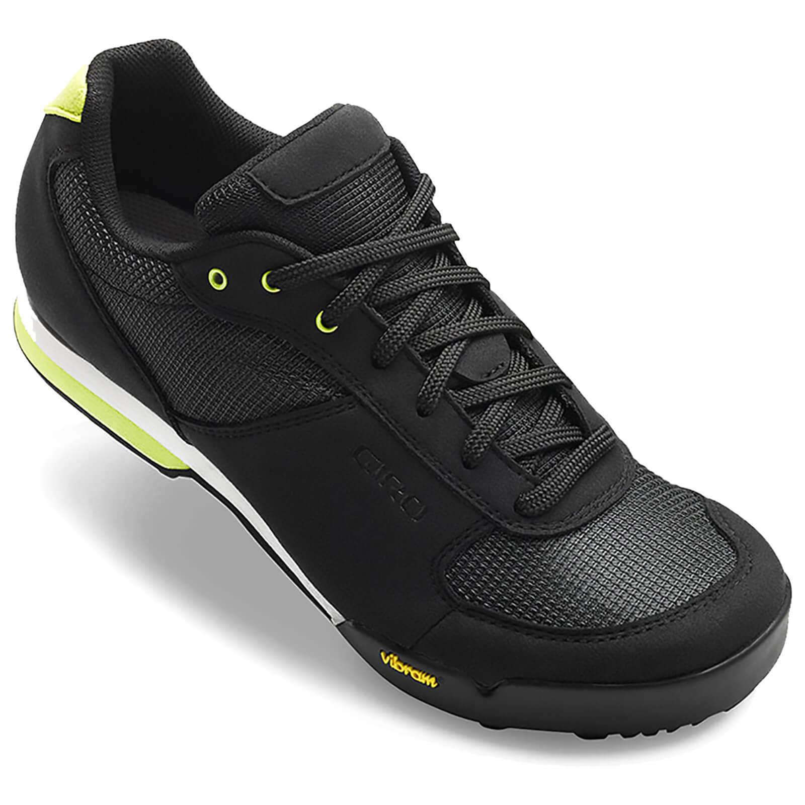 Giro Petra Women's MTB Cycling Shoes - Black/Wild Lime - EU 39/UK 5.5 - Black