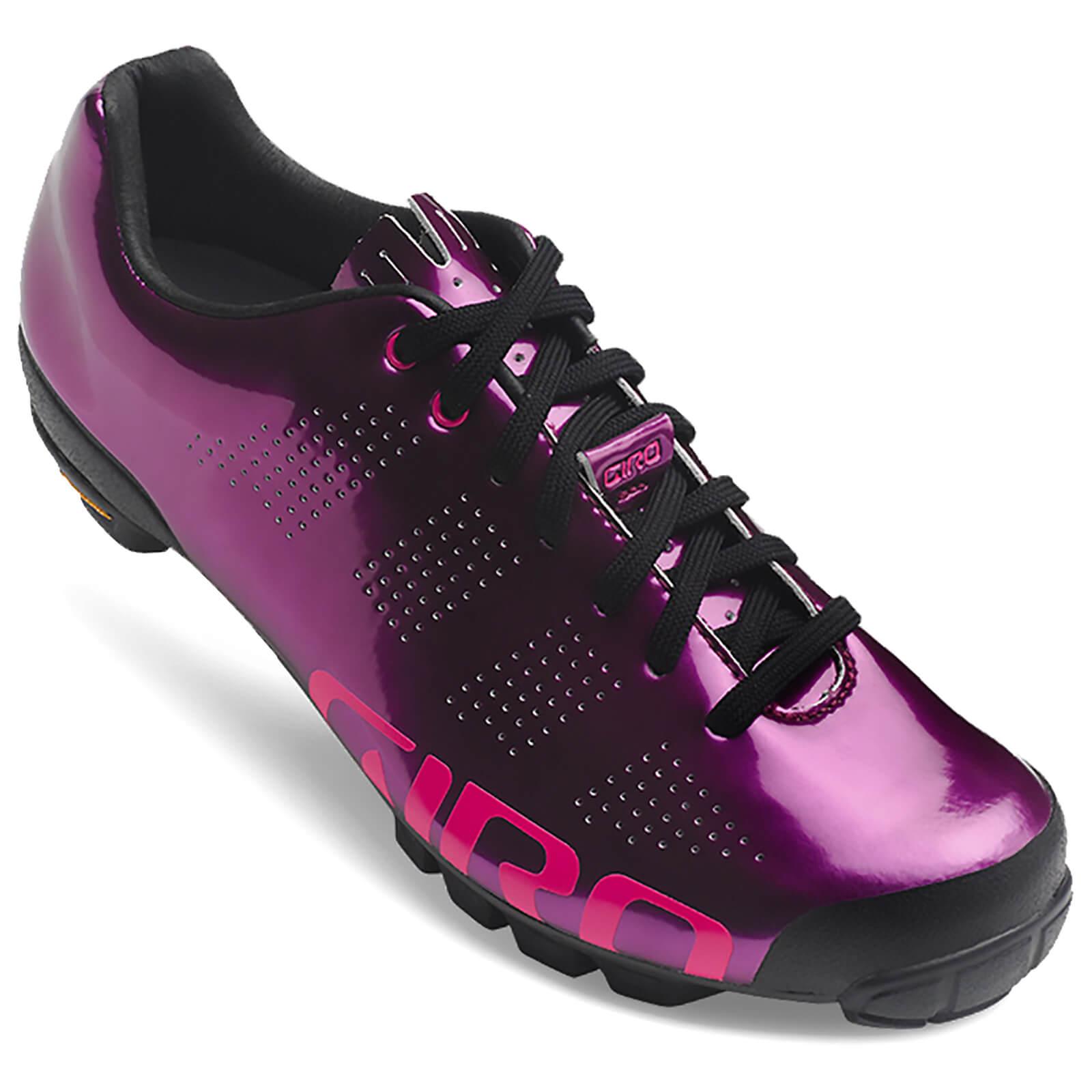Giro VR90 Women's MTB Cycling Shoes - Berry/Bright Pink - EU 37/UK 4 - Red